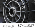 View of old engine of airplane 37411587