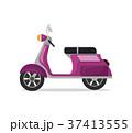 スクーター 原付 バイクのイラスト 37413555