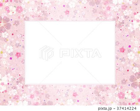 背景素材 桜 テクスチャー 37414224