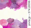 水彩模様 (ピンク) 水彩紙背景 スペース広め 37418096