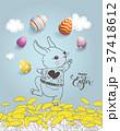 イースター たまご 卵のイラスト 37418612
