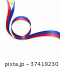 Philippines wavy flag background. Vector 37419230