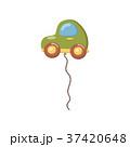 車 自動車 バルーンのイラスト 37420648