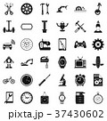 Auto repair icons set, simple style 37430602