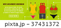 Men and women underwear banner horizontal concept 37431372