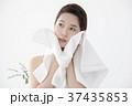 女性 人物 洗顔の写真 37435853