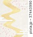 桜 川 背景素材のイラスト 37443990
