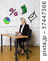 ビジネス 商売 女性の写真 37447366