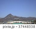 大韓民国ソウル特別市 光化門通りから見た景福宮 37448338