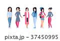 アジア人 アジアン アジア風のイラスト 37450995