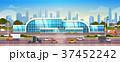 空港 建造物 エクステリアのイラスト 37452242