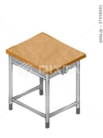 学校机のイラスト素材 37456091 Pixta