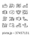 車 自動車 アイコンのイラスト 37457131