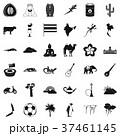 エキゾチック 動物 アイコンのイラスト 37461145