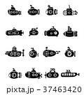 潜水艦 アイコン イコンのイラスト 37463420