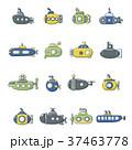 潜水艦 アイコン イコンのイラスト 37463778