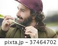農業 野菜 収穫 外国人男性 37464702