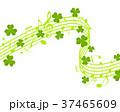 クローバー 譜面 音楽 楽譜 ト音記号 演奏 歌う 37465609