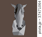 Low-poly effect horse head 37471064