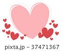 ハート フレーム ハートマークのイラスト 37471367
