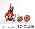 コマ 独楽 正月の写真 37471849