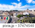 サンタンジェロ城から眺めるローマ 37474540