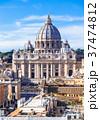 ローマ サン・ピエトロ大聖堂 クーポラの写真 37474812