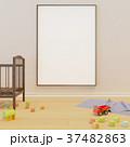 ボード カンバス キャンバスのイラスト 37482863