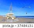 九十九里ビーチタワー モーターパラグライダー パラグライダーの写真 37484131