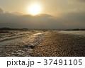 夕日 風景 川の写真 37491105