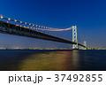 明石海峡大橋 夜景 37492855