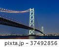 明石海峡大橋 夜景 37492856