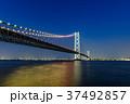 明石海峡大橋 夜景 37492857