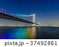 明石海峡大橋 夜景 37492861