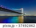 明石海峡大橋 夜景 37492862