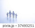 家族 ファミリー ペーパークラフトの写真 37493251
