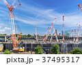 建設現場 建設 クレーンの写真 37495317