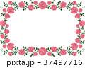 フレーム 枠 花のイラスト 37497716