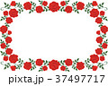フレーム 枠 花のイラスト 37497717