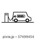 EV 充電ステーション 充電のイラスト 37499454