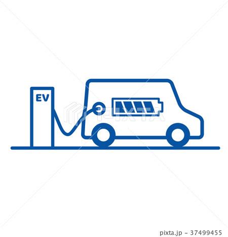 EV充電ステーション 37499455