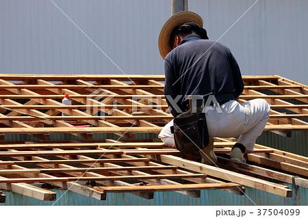 大工さんの仕事:現役職人 37504099