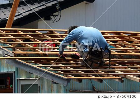 大工さんの仕事:現役職人 37504100