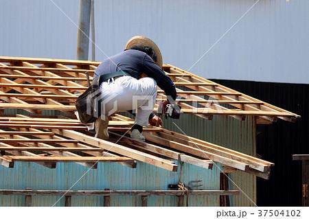 大工さんの仕事:現役職人 37504102