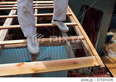 大工さんの仕事:現役職人 37504106