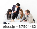 ビジネスマン ビジネスウーマン グローバルの写真 37504482