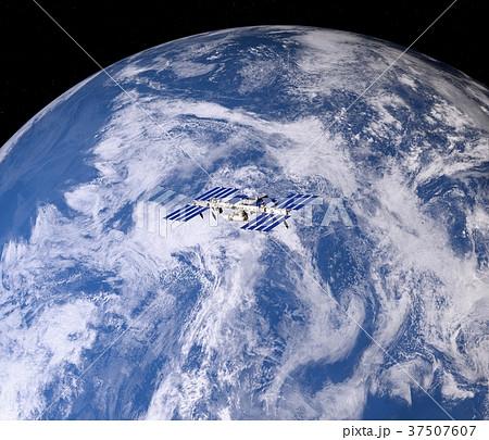 地球3DCG perming3DCG160812 イラスト素材 37507607
