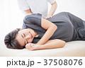 マッサージ 妊婦 マタニティ 妊娠 エステ 整体 女性 白バック 37508076