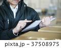 配送業 タブレット 配送センターの写真 37508975