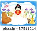 端午の節句 金太郎 鯉のぼりのイラスト 37511214